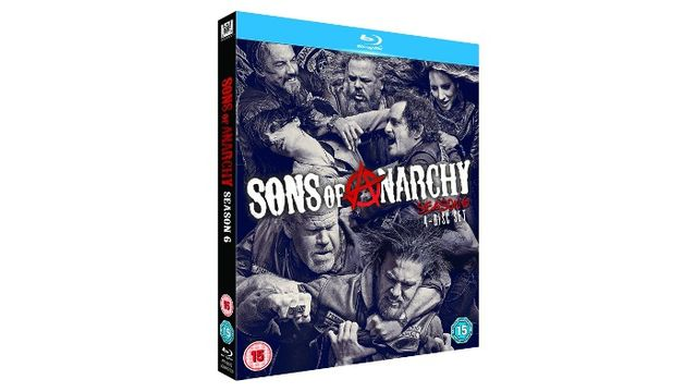 SONS OF ANARCHY SEASON 6 Blu-ray