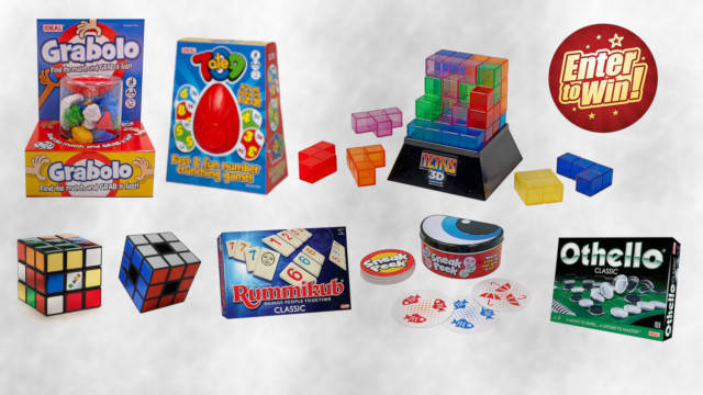 Your chance to win an Ideal games bumper bundle by John Adams