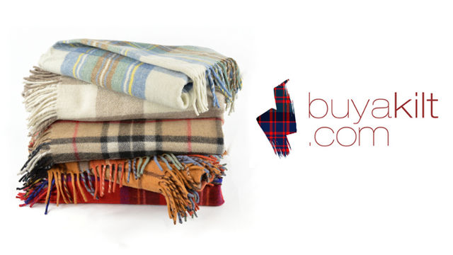 New Wool Tartan Rug from buyakilt.com