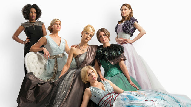 The Colby Sisters of Pittsburgh, Pennsylvania at The Tricycle Theatre London