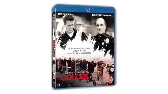 Colors on Blu-ray starring Sean Penn and Robert Duvall
