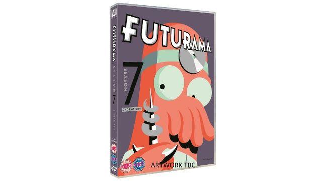 FUTURAMA: THE COMPLETE SEASON SEVEN DVD