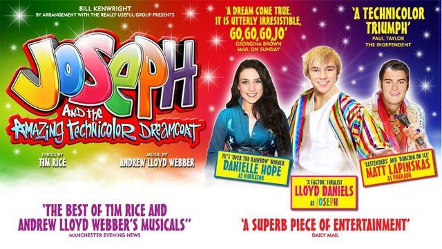 Joseph and the Amazing Technicolor Dreamcoat UK Tour
