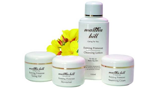 Martha Hill Evening Primrose Skin Care set