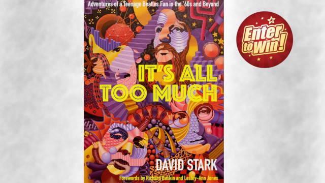 """To win 1 of 6 copies of """"IT'S ALL TOO MUCH"""" Paperback by DAVID STARK"""