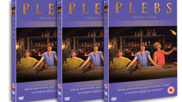 Win Plebs Series Four on DVD