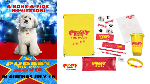 PUDSEY THE DOG: THE MOVIE Goody Bag