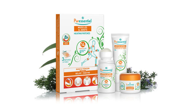 Puressentiel Muscles and Joints products