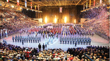 Your chance to win a Family Ticket for Four to Birmingham International Tattoo on Saturday 23 November at 6.00pm at Arena Birmingham