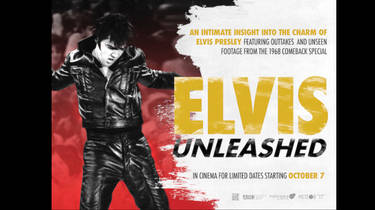 Your chance to win a pair of tickets to see 'Elvis Unleashed' on the big screen on 7 October 2019 and a quad poster