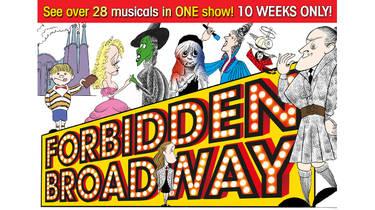 Forbidden Broadway at the Vaudeville Theatre