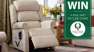 Oak Tree Mobility Rise and Recline Chair prize draw