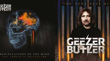 Win a Bundle of Geezer Butler's 'Manipulation Of The Mind – The Complete Collection' & 'The Very Best Of Geezer Butler' CDs