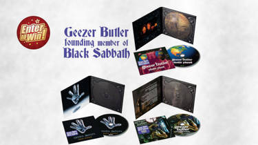 To win a Bundle of Black Sabbath founder Geezer Butler's 'Plastic Planet', 'Black Science' & 'Ohmwork' CDs