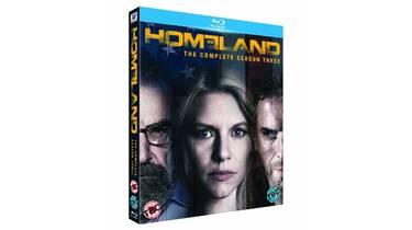 Homeland Season 3 on Blu-ray