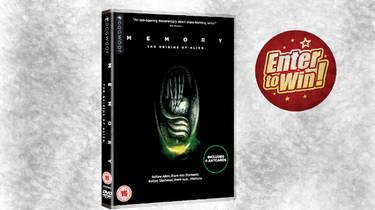 MEMORY: THE ORIGINS OF ALIEN DVDs up for grabs