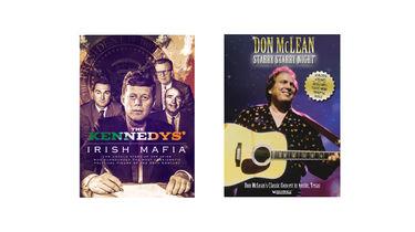 Don McLean Starry Starry Night & The Kennedys' Irish Mafia DVDs bundle
