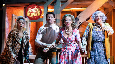 Win tickets to see Noises Off at the Garrick Theatre