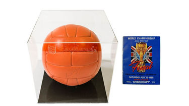 imited Edition Replica 1966 World Cup Match Ball in Perspex Box & a Replica 1966 Match Programme