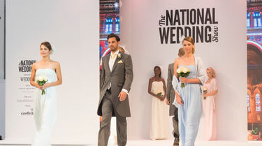 The National Wedding Show at Manchester Central, London Olympia or Birmingham NEC