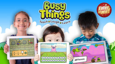 To win the Busy Things One-Year Family Subscription