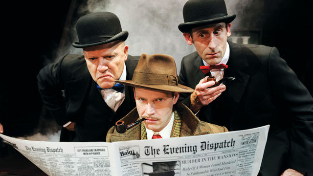 THE 39 STEPS at Criterion Theatre London
