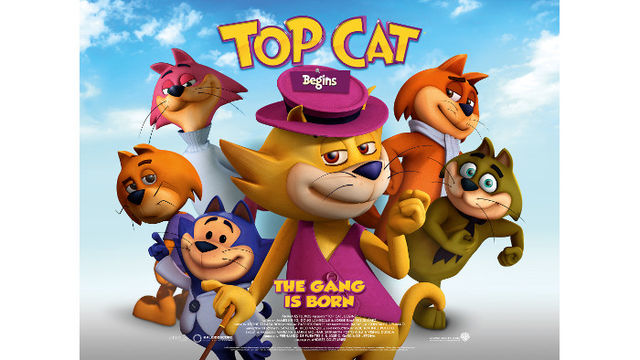 WIN A FAMILY DVD BUNDLE WITH TOP CAT BEGINS