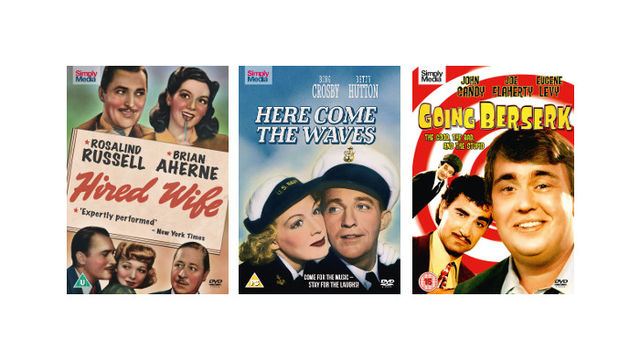 A Bundle of Three Universal Pictures/Hollywood Classics on DVD