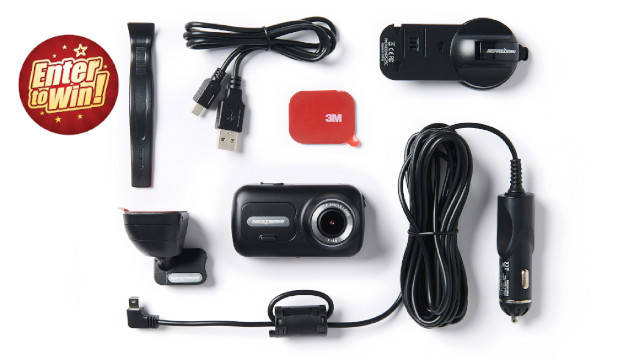 For your chance to have the Nextbase 322GW Dash Cam (worth £99)