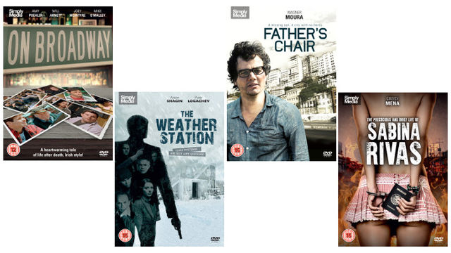 Father's Chair (A Busca), On Broadway, The Precocious & Brief Life Of Sabina Rivas and The Weather Station (Pryachsya)