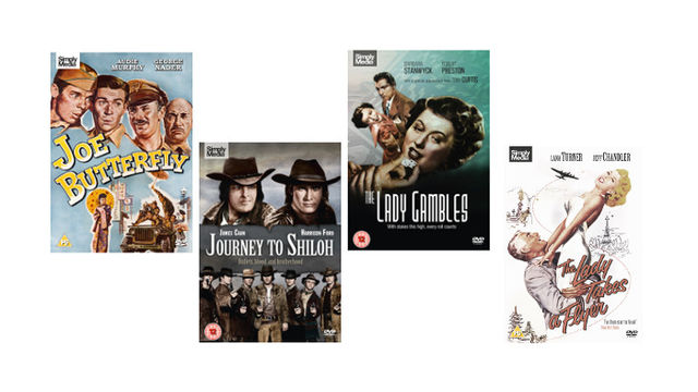 A Bundle of Four Universal/Hollywood Classics on DVD