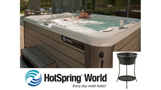 Cool Ice Bucket (worth £60) from HotSpring World the Hot Tub professionals
