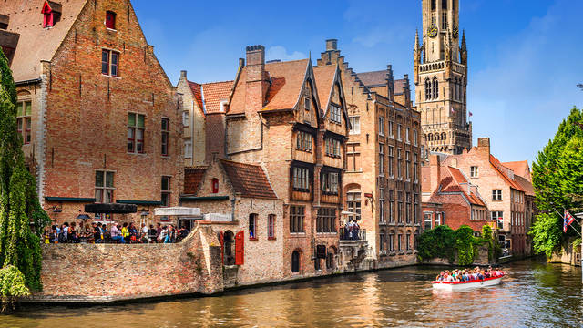 Win a 4-day break to beautiful Bruges for two people
