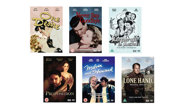 Six Universal Pictures/ Hollywood Classic Features on DVD