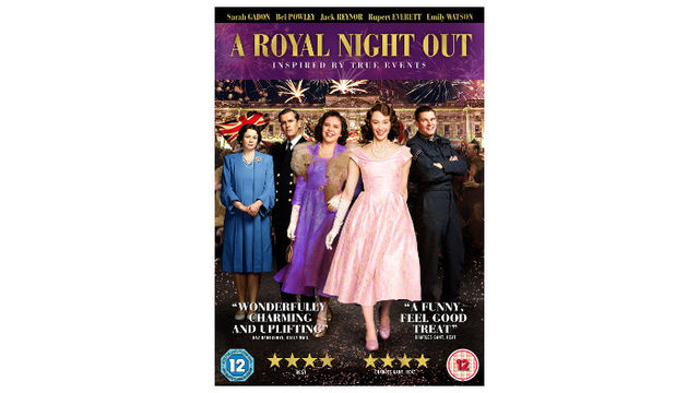A Royal Night Out on DVD