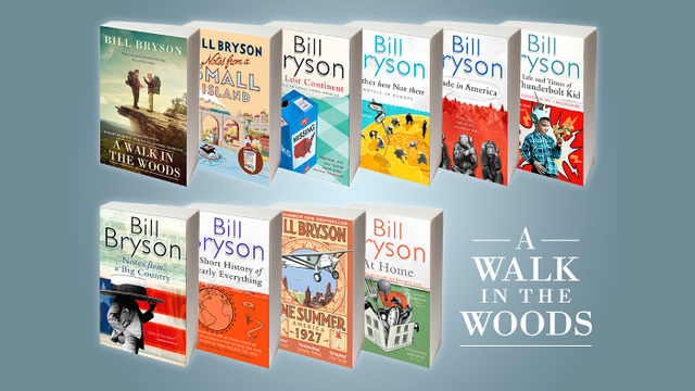 Bill Bryson Books collection