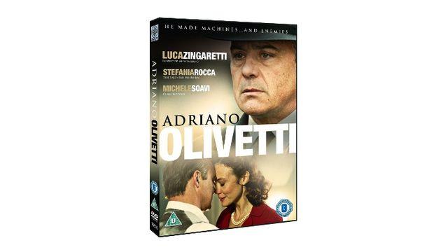 Adriano Olivetti: La Forza Di Un Sogno on DVD starring Luca Zingaretti