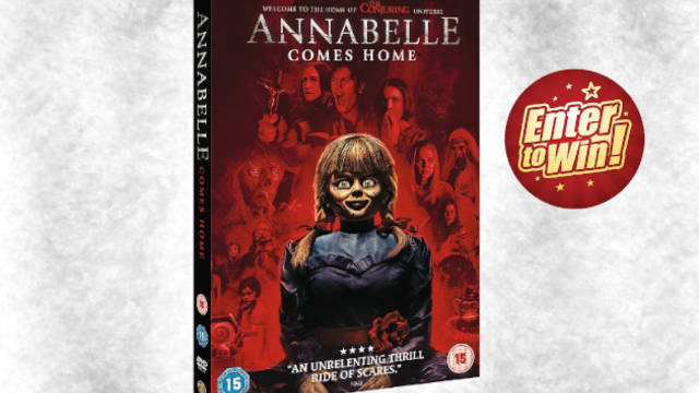 WIN ANNABELLE COMES HOME ON DVD
