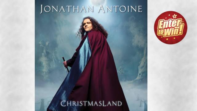 WIN A COPY OF JONATHAN ANTOINE'S BRAND NEW ALBUM CHRISTMASLAND
