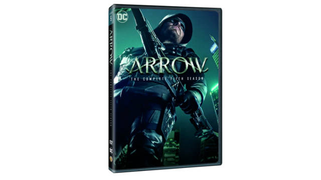 Arrow: The Complete Fifth Season on DVD