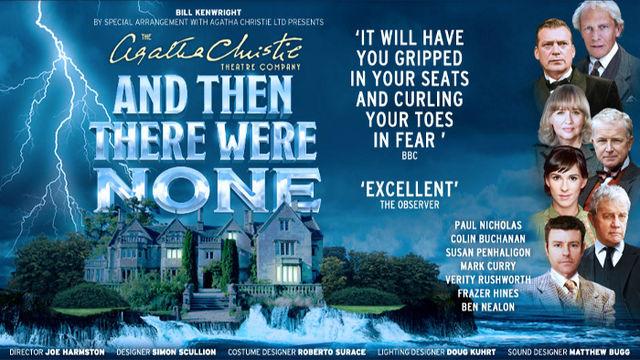 Agatha Christie Theatre Company And Then There Were None UK tour 2015