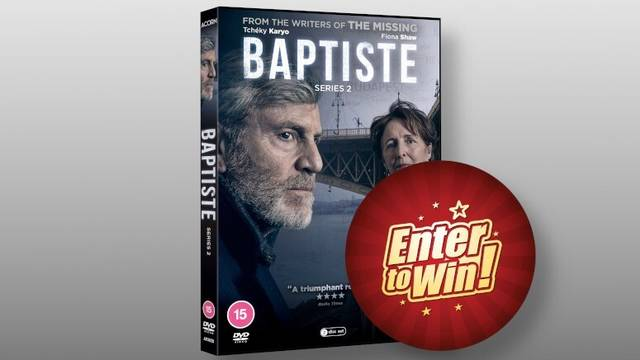 Baptiste Series Two DVDs up for grabs