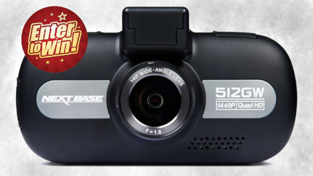 For your chance to have the Nextbase 512GW Dash Cam (worth £149.99)