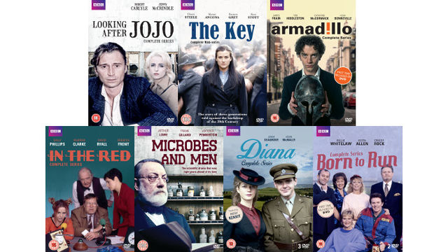 BBC Worldwide Classic Dramas: Looking After Jo Jo, Armadillo, Diana, In The Red, Born To Run, Microbes and Men and The Key
