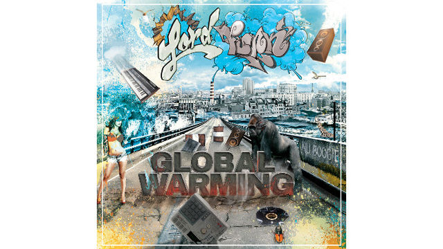 vinyl copy of 'Global Warming' the new album from Parisian boogie merchant Lord Funk!