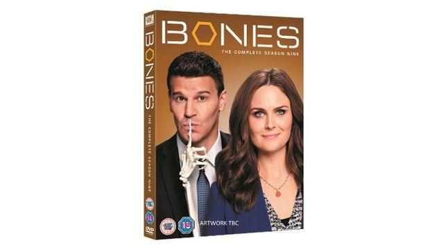 BONES: THE COMPLETE SEASON 9 DVD