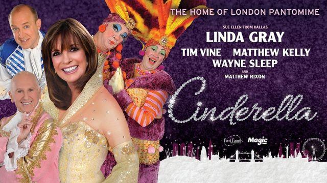 Cinderella starring Linda Gray at New Wimbledon Theatre