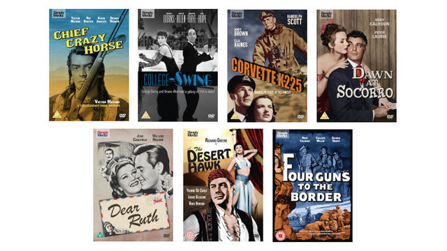 Seven Classic Features from the Universal Pictures/Hollywood Classics on DVD