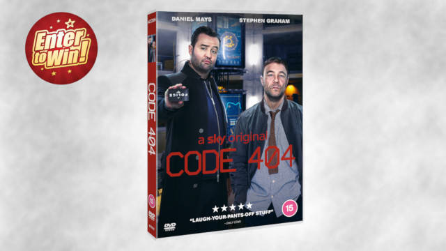 Code 404 DVDs up for grabs