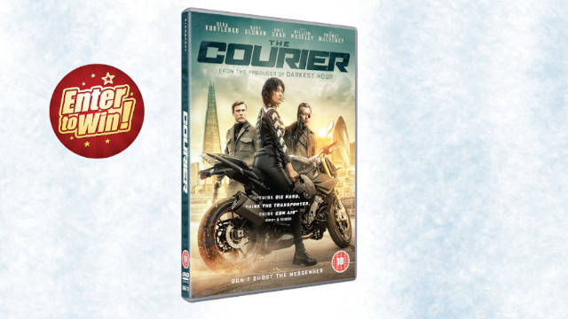 THE COURIER DVDs up for grabs